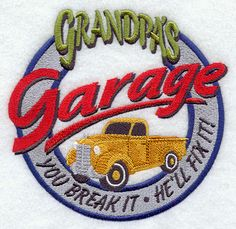 Grandpa's Garage Sign