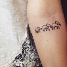 elephants young elephants elephant elephants tattoos met fav tattoos ...