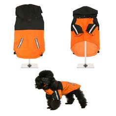 NEW - Trailfinder Windbreaker Jacket- Rain Jacket For All Sized Dogs - Dog Jackets - Pet Supplies - Dog Raincoat - Dog Waterproof Coat Dog Jacket, Rain Jacket, Dog Raincoat, Waterproof Coat, Teacup Chihuahua, Outdoor Fashion, Windbreaker Jacket, Pet Accessories, Dog Bed