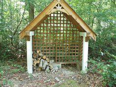 Sturdy lattice shed
