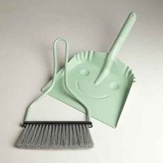 A dustpan that's happy to help ($15).