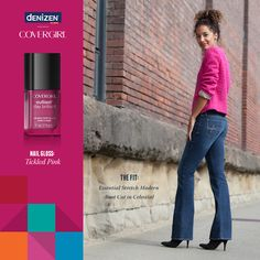 Gray skies got you down? Brighten up your look by adding a pop of pink!