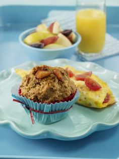 Recipe for Sunshine Peach Muffins