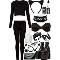 black cat diy halloween costume - Cat Costume Ideas Halloween