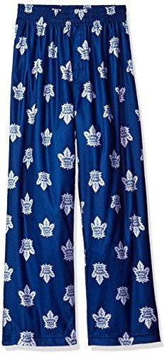 NHL teen-boys NHL Kids & Youth Boys Team Logo Lounge Pant  http://allstarsportsfan.com/product/nhl-teen-boys-nhl-kids-youth-boys-team-logo-lounge-pant/?attribute_pa_teamname=toronto-maple-leafs&attribute_pa_size=large-14-16&attribute_pa_color=dark-blue  Offically licensed by the NHL Team logo all over Designed as sleepwear