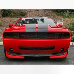 Red and Black Dodge Challenger SRT