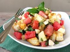 Panzanella - a great summer Tuscan salad for your fresh tomatoes from the garden.
