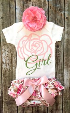 A personal favorite from my Etsy shop https://www.etsy.com/listing/450398328/flower-girl-onesie-flower-girl-shirt