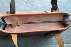 Bolsos bandolera - lima bolso de cuero hecho a mano - hecho a mano por ladybuqartstudio en DaWanda