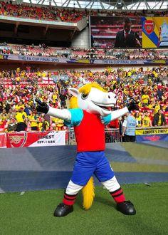 Billie the Horse #FACup #Mascot #football #mascot #costume #horse