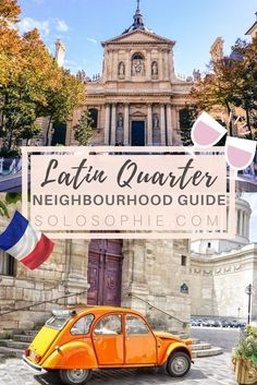Your ultimate Parisian guide and Itinerary- Paris guide to the Latin Quarter (5e arrondissement), things to do in Paris, France! Pantheon, Sorbonne University, Shakespeare and Co.
