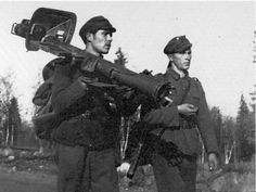 The panzerschreck remained in service in Finland until 50', pin by Paolo Marzioli