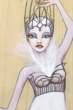 Art NuVogue: Enchanted Doll Contest Entry v. Black Swan