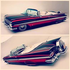 Classic 59 chevy convertible  the likes  of which  have never been  equaled  in modern day