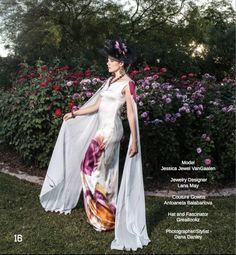Published on Indie Soleil Magazine Floral Explosion June 2017 - Shoot done 04-21-17 Model - Lindsey Lockwood  HMUA - Lolitta Schultz   Jewelry Designer - Lana May Couture Gown - Antoaneta Balabanova and Galina Mihaleva Photographer/Stylist - Dana Danley   Lighting Assistant - Robertt W Dickinson Studio - Lunatic Lens
