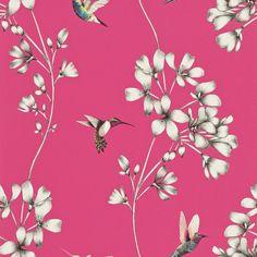 Amazilia Flamingo wallpaper by Harlequin
