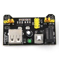 Fuente para Protoboard MB102 3.3V / 5V – Talos Electronics