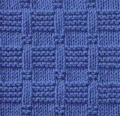 Knitting Galore: Saturday Stitch: Tile Stitch