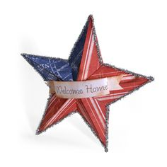 welcome home or fourth of July star