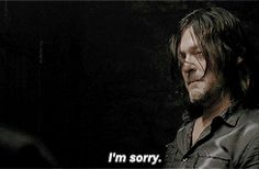 When Daryl cries I cry
