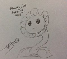 [Click through to read the rest!] Flowey and Frisk ||| Undertale Fan Art by deoxyrebornicleic on Tumblr