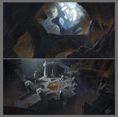 Bard's Tale IV Concept Sketches, Gabriel Yeganyan on ArtStation at https://www.artstation.com/artwork/bard-s-tale-concept-sketches