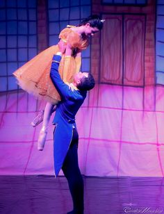 Beauty and the beast + Ballet... could this be anymore perfect?