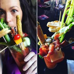 Is this a bloody or a salad bar in a glass? #Austin #jensbdayshitshow #texas #everythingisbiggerintx #birthdays #tourists #travel #vacation #weekendadventures by jenkiraly