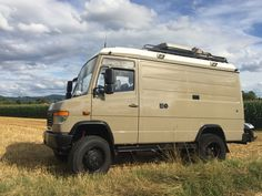 Mercedes Camper, Mercedes Benz Vans, Mercedes Van, Ambulance, Small Motorhomes, Big Van, Vw Lt, James Cook, Expedition Vehicle