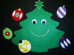 5 Little Ornaments van creativefeltboards op Etsy