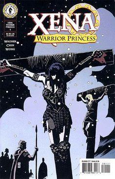 Mike Mignola cover for Dark Horse Comics http://xwp20100.tripod.com/xena1.jpg