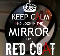 """""""Pretty Little Liars"""" fans are so paranoid these days :p RED COAT EVERYWHERE!"""