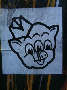 """Dibeeya Dibeeya Dibeeya, That's all folks!"" Looney-Cartoon downtown Manhattan style..."