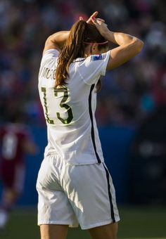 Alex Morgan vs. Mexico, Frisco, Texas, Feb. 13, 2016. (Ashley Landis/The Dallas Morning News)