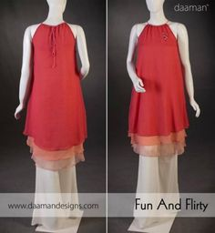 Daaman Latest Semi Formal  Eid Wear Dresses Collection 2012 For Women09