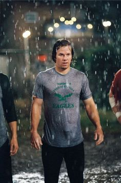 Mark Wahlberg in Invincible...a Wahlberg playing an Eagle set in the time I was still a babe in Philly = my kind of movie