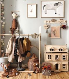 MyLittleRoom | Kid's Room Inspo Just love this autumn decor styled by @tthese_beautiful_thingss with the amazing Victorian Dollhouse from Plantoys