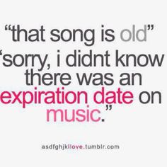 Yes... I get this a lot... knowing that i listen to 70s music... ;( lol