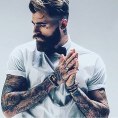 Brave & Bearded — Manliness is on the rise @chris_perceval is...