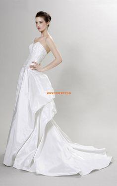 A-line Taffetas Elégant & Luxueux Robes de mariée 2014