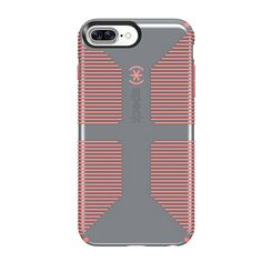 Speck Products CandyShell Grip Cell Phone Case for iPhone 7 Plus - Nickel Grey/W #Speck