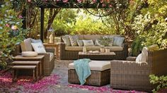 Superbes salon de jardin de qualité en vente sur Eden deco. http ...