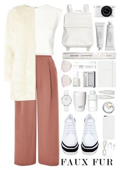 """""""Faux"""" by unkemptly ❤ liked on Polyvore featuring Topshop, Puma, STELLA McCARTNEY, Dorothy Perkins, Monki, Byredo, ROOM COPENHAGEN, Forever 21, Nikon and Clinique"""