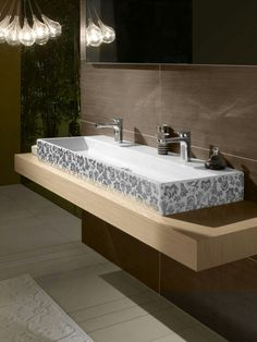 Villeroy Boch Modern Bathroom Vanity Sleek Bathroom Collection Focusing on the Essential: Memento By Villeroy & Boch Floating Bathroom Vanities, Bathroom Vanity Cabinets, Vanity Sink, Bathroom Sinks, Vanity Units, Bathroom Ideas, Duravit, Furniture Vanity, Bathroom Furniture