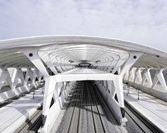 Lyon-Saint Exupéry Airport Railway Station / Colombier-Saugnieu (Gallery) - Santiago Calatrava – Architects & Engineers
