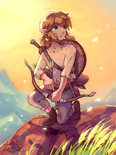 Breath of the Wild: Link by aquanut on DeviantArt