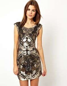 Thread Rococo Mini Dress
