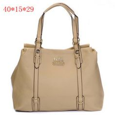 Coach Madison Leather Metal Logo Tote Beige [Coach-0724] - $56.45 : Coach Outlet Canada Online