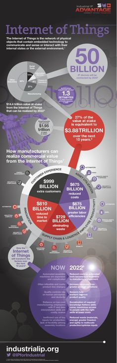 IIPA Internet of Things infographic