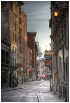 Montreal, Quebec! Québécois French is impossible to understand, but I am up for the challenge in such a beautiful city!